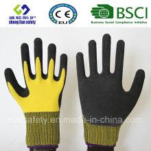 Gants givrés au latex, Gants de travail de sécurité de finition sablonneuse (SL-RS301)
