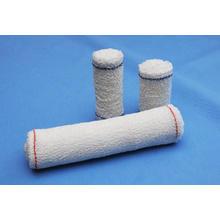 Vendaje de crepé de algodón de primeros auxilios naturales de alta calidad