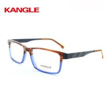 2017 Acetate Gentlemen Acetate Optical Frame Eye Glasses Frames With Metal Temple