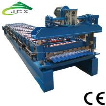 Hoja de techo corrugado automático en frío que forma la máquina