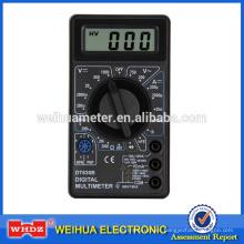 Multímetro digital DT830B con cubierta de batería extraíble de componente de protección de diseño completo