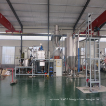 Automatical Plastic and Wood WPC mixture dosing and mixing machine for polyurethane