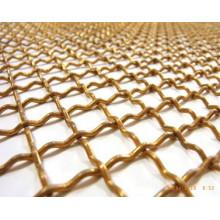 Crimped Square Copper Wire Mesh