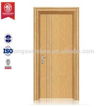 Puerta empotrada de madera MDF de PVC
