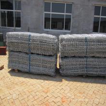 China Fábrica Galvanizado / PVC Revestido Gabião Cesta