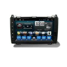 Quad lecteur dvd voiture avec gps, wifi, BT, MIROIR-CAST, AIRPLAY, double DVR, SWC pour Mercedes-B200