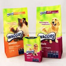 Пластиковая упаковка Zip Stand up Сумка для упаковки пищевых продуктов для собак, Чехол для собак, Сумка для продуктов для домашних животных
