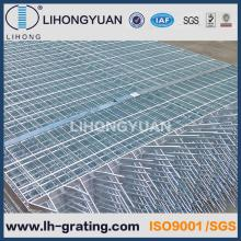 Galvanised Steel Grating Fencing with Sharp Teeth Tooth