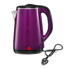 Amazon Supplier 220V 2L 1500W Vintage Stainless Steel Water Boiler Electric Kettle