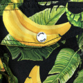shorts de playa con estampado de plátano Hawaii para hombre