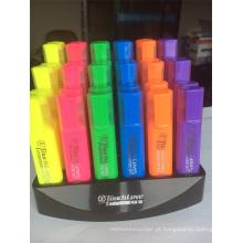En-71 6 Cores Display Box Highlighter Pen