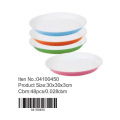 Ceramic colorful coating round pan