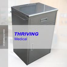 Cabinet de chevet en acier inoxydable de haute qualité (THR-CB570)