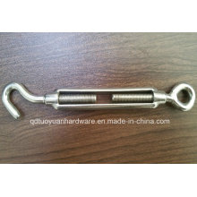 Stainless Steel 304/316 and Electro-Galvanized Turnbuckle Rigging Hardware