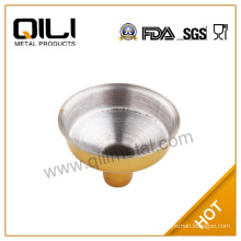 Yellow color stainless funnel