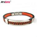 Custom Fashion Accessories Stainless Steel Smart Bangle Mens Bracelets,Engraved Bracelets Men Wholesale B209