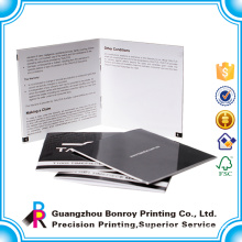 Made in China Factory Cheap Colorful New Product Custom business brochure