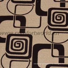 Tecido de sofá de poliéster Flock New Flower Design