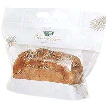 Wholesale Custom Logo eco friendly bakery toast packaging paper bread bag