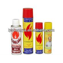 высокий чистый бутан зажигалка газ / бензин для зажигалок