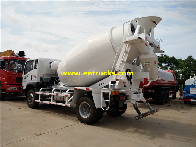 SINOTRUK Concrete Mixing Vehicles