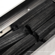 Carbón de leña hexagonal al por mayor del Bbq del aserrín de la madera dura exportado a Grecia, Japón, Corea, Malasia