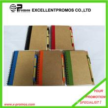 Notebook reciclado com caneta (EP-B7156)