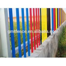 Защитный металлический забор / Забор из алюминиевого забора / декоративные металлические ограждения
