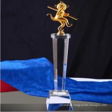 2016 New Design Metal Crystal Trophy