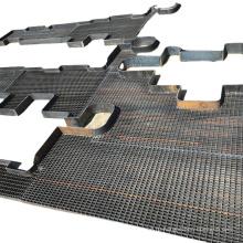 строительная стальная платформа оцинкованная стальная решетка для промышленных полов