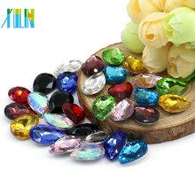 fancy shape change color synthetic stones corundum 13*18