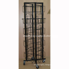 American Style 24 Pocket Rolling Frames Display Rack (PHY2047)