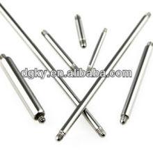 12 Gauge 316L Reemplazo de acero quirúrgico Barbell Joyería Accesorios