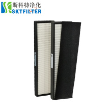 2 HEPA with 6 prefilter ODM OEM Air filter H12 replacement hepa filter for Germguardian FLT5000 Air purifier