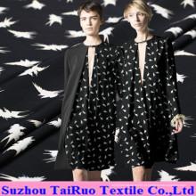 Seda impressa Digitas de 114cm Crepe De Chine para a tela da camisa