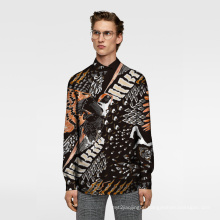 Digital Printing Fabric Calico Cloth Man Shirt Fabric