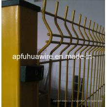 Забор из проволочной сетки с покрытием из ПВХ с возможностью горячей замены (завод)