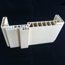 O PVC moldou o architrave durável dos bens Df-220h32 WPC da porta do Jamb da porta do quadro de porta WPC