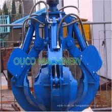 Schält den elektrischen hydraulischen Greiferschaufel ab