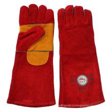 Двойные защитные рабочие перчатки для пальмовой кожи