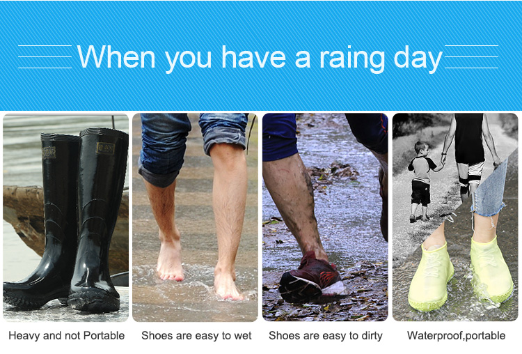 Wear-Resistant Waterproof Shoe Protector