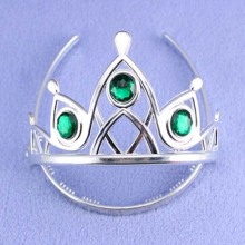 Novel Crystal Tiaras and Crowns
