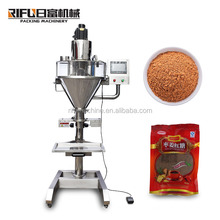 Semi Automatic multifunctional Auger Spice Milk Protein Powder Filling Machine & cayenne pepper Auger Filler for food shop