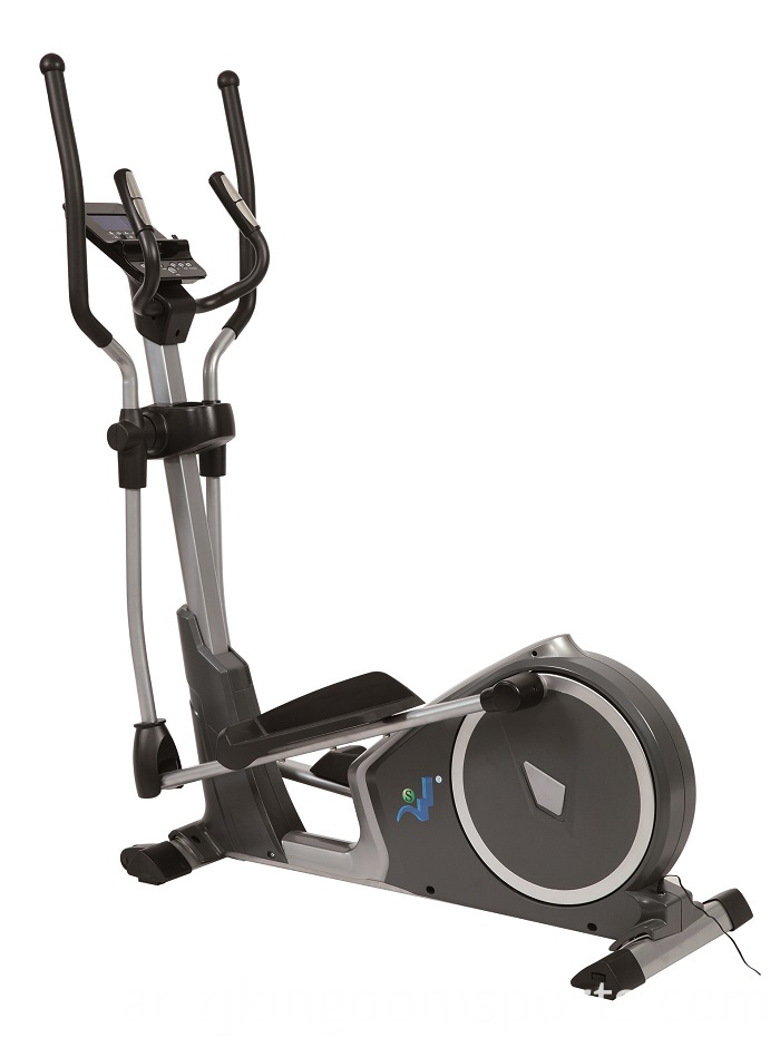 Foldable elliptical trainer