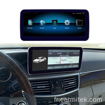 Android Mercedes Benz Classe E W212 09-16