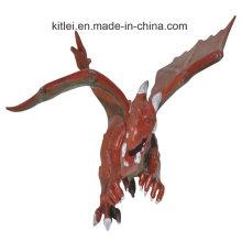 Жировидная красочная малая пластичная игрушка Динозавр