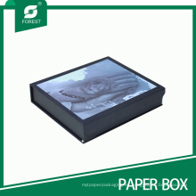Caja de regalo impresa de la cartulina magnética (FP200097)