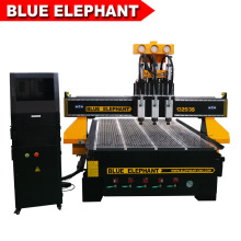 1325 CNC Router Multi Spindles Pneumatic System Engraving Machine Three Spindles 3.5kw Air Cooling Spindle