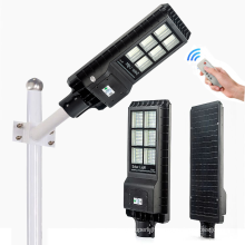 Induction all in one 60w pole led solar street light with CE