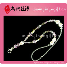 colorful handmade promotion wedding guangzhou personalized custom jeweled pink diamond stone initial wholesale crystal keychain